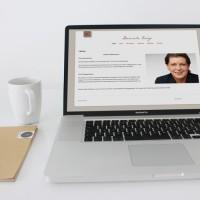 homepage Design und Programmierung