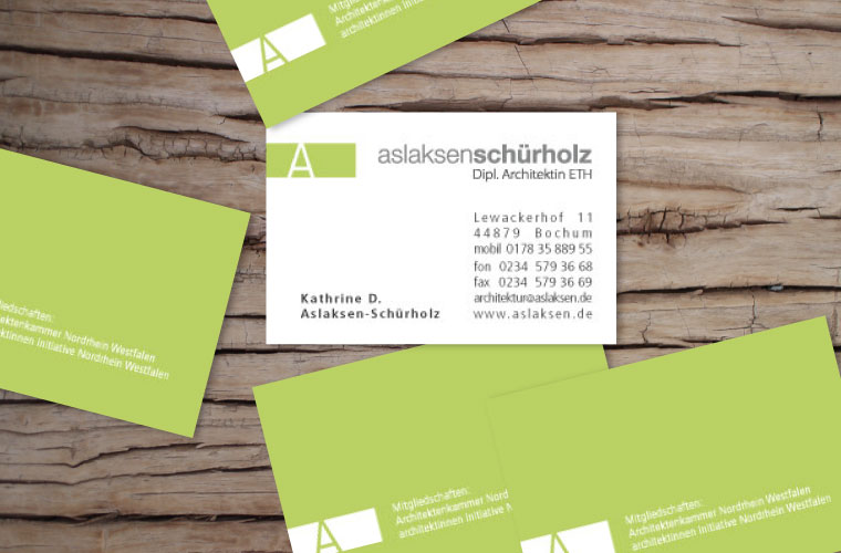 angereichert designs namecards and logos - architekturlogo