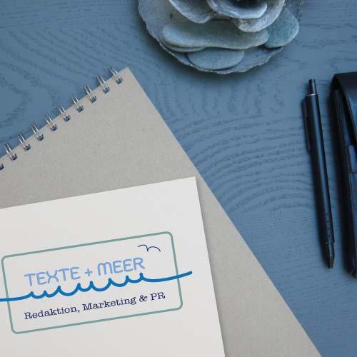 Design eines Marketing Logos für ein Redaktionsbüro